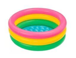 Título do anúncio: Piscina inflável Raios de Sol 37 litros