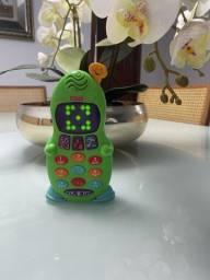 Telefone Musical  Fisher Price: R$ 30