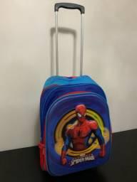 Mochila homem aranha IMPECÁVEL
