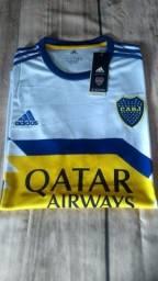 Camisa do Boca Júnior branca
