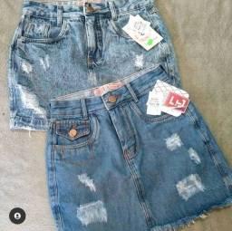 Saias jeans Tam 36/38 só venda