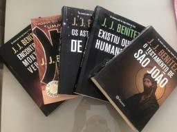 Título do anúncio: Coleção Livros J.J. Benitez