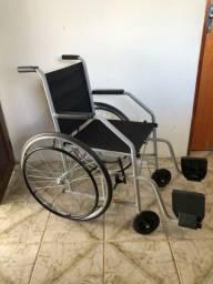 Cadeira de rodas + Cadeira de banho ler descrição