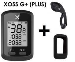 GPS para bicicleta Xoss G+ aceita sensores velocímetro ( NOVO )+ Suporte Alongado ou Case