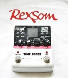 Pedal Nux delay time force p guitarra ac troca rexsom joyo boss mooer