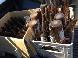 Vasilhame vasio 80 garrafas com 1 caixa
