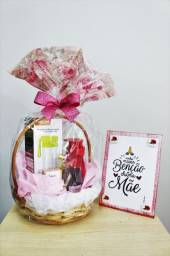 Cesta Dia das Mães! Presente + Brinde!!!