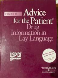 USP Volume II Advice for the Patient: Drug Information in Lay Language