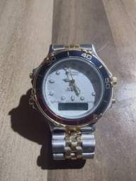 Vendo ou troca Relógio technos masculino série ouro $ 300