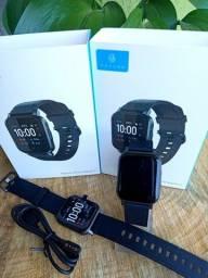 Smartwatch Haylou lS02 Bluetooth 5.0 com 12 modos esportes oferta!!!