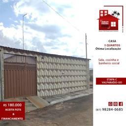 Casa de Esquina 3 Quartos QD 17 Etapa C Valparaíso-GO