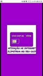 Título do anúncio: INTERNET ILIMIT4D4 4G