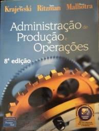 Livro administracao de producao e operacoes