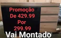 Balcão Mega Promoção na D Tudo Para Casa Móveis