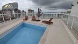 Apartamento com 2 dormitórios à venda, 75 m² por R$ 340.000 - Caiçara - Praia Grande/SP