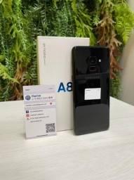 Galaxy A8 Preto 64GB Seminovo, Nota Fiscal + Garantia, homologado pela Anatel.