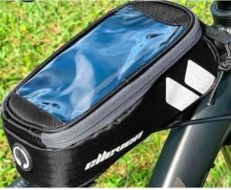 Bolsa De Quadro Para Bicicleta Elleven Com Porta Celular