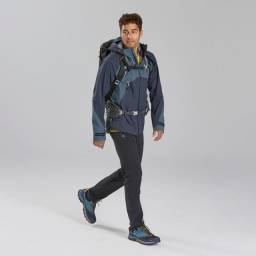 Jaqueta masculina Quechua impermeável