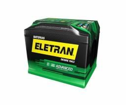 Bateria Eletran 50 Amperes caixa alta R$ 295,00