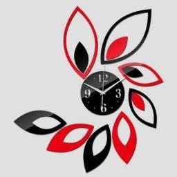 Relógio De Parede 3d estilo Flor