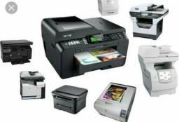 Manutenção de Impressoras Laser ou Jato de tinta