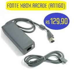 Fonte Para Xbox 360 Fat Arcade Zephyr Falcon Jasper-220v - Original