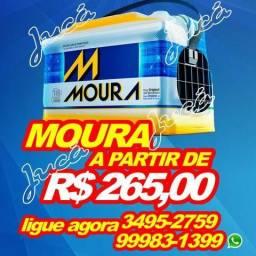 Super promoção de baterias moura. A partir de R$265,00