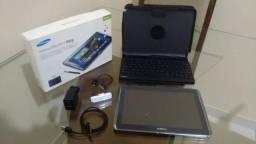 Vendo Tablet Samsung usado Note 10.1 N8010 + Teclado Bluetooth e Tv Digital