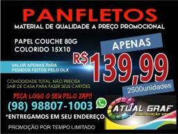 Panfletos R$ 99,90