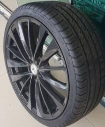 Rodas Aro 20 TSW pneus Novos Unico Dono