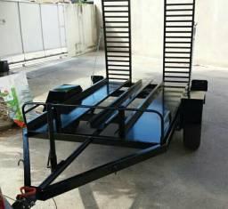 Vendo carroça para quadriciclo e moto - 2016