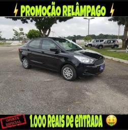 Promoção relâmpago ford ka 1.5 sedan 2016 com r$ 1.000 mil de entrada - 2016