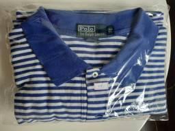 Camiseta Polo Ralph Lauren listradas 3XB 21a203e0a0b