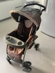 Carrinho de Bebê chicco + bebê conforto + suporte para carro