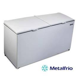 Freezer e Refrigerador Horizontal (Dupla Ação) 2 Tampas 546 Litros DA550 110V - Metalfrio