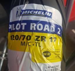 Pneu Michelin Pilot Road 5 Dianteiro 120/70R17