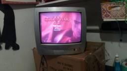 Tv Semp de 14 polegadas tela rosa
