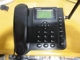 Telefone rural desbloqueiado aceita todas as operadoras