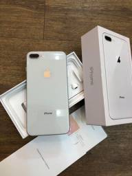 iPhone 8 Plus 64Gb Silver Anatel Completo Extremamente Bem Cuidado Ler Descrição -