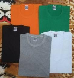 Kit Camisetas masculina algodão pima estampa colorida