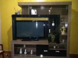 Estante + Tv LG 42 polegadas + Chromecast 3