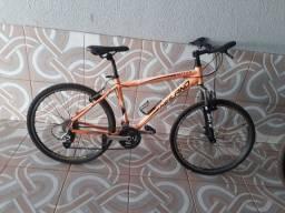 Bicicleta em alumínio Aro 26, 24v, número 18, Heiland Nett 2.2 , com catraca k7