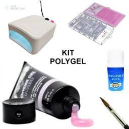 Kit de unha Polygel Alongamento designer de unhas Poligel