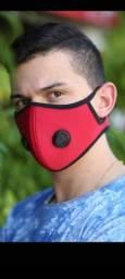 Máscara velcro
