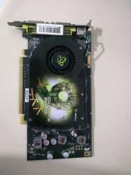 Placa de vídeo Nvidia GeForce 9600GT 1GB DDR3 256 BIT Usada
