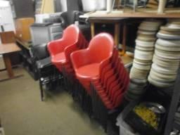 Cadeiras vermelha