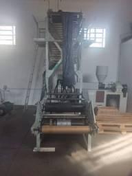 Máquina Para Fabricação De Saco Plástico De Lixo Completa