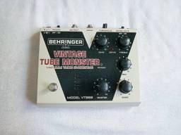 Pedal guitarra Vintage Tube Monster da Behringer