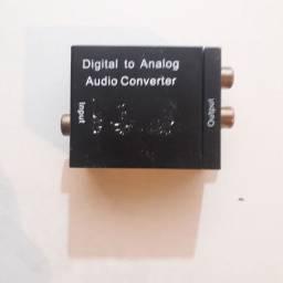 DAC DIGITAL ÁUDIO CONVERTER.