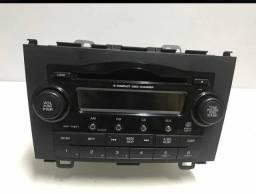 Rádio Original Honda CRV ELX 2009 Impecável